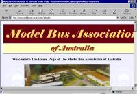 The Model Bus Association of Australia